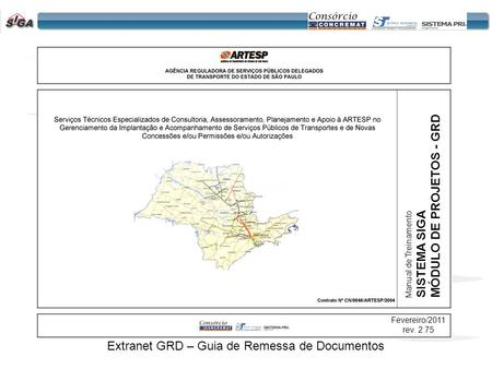 Extranet GRD – Guia de Remessa de Documentos