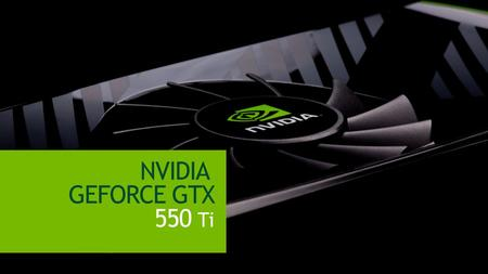 NVIDIA GEFORCE GTX 550 Ti.