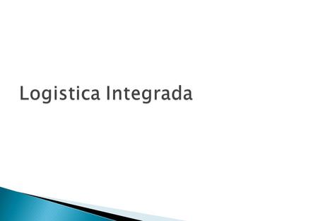Logistica Integrada.