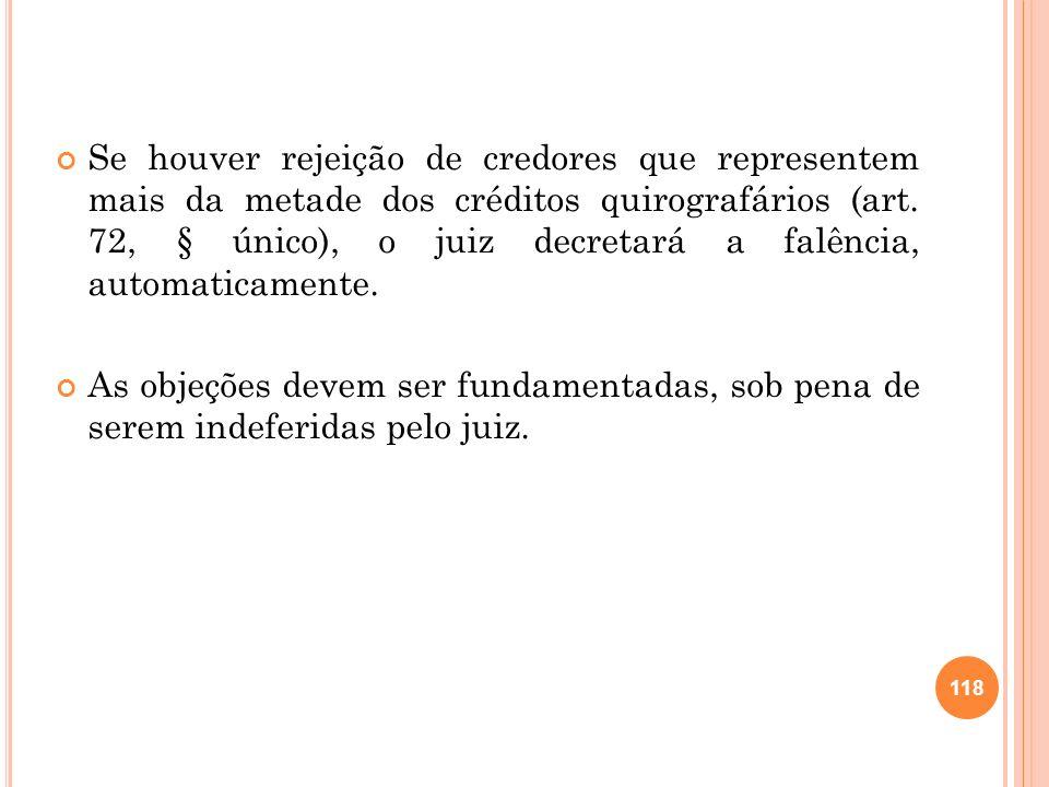 119 2.26 RECUPERAÇÃO EXTRAJUDICIAL Arts.
