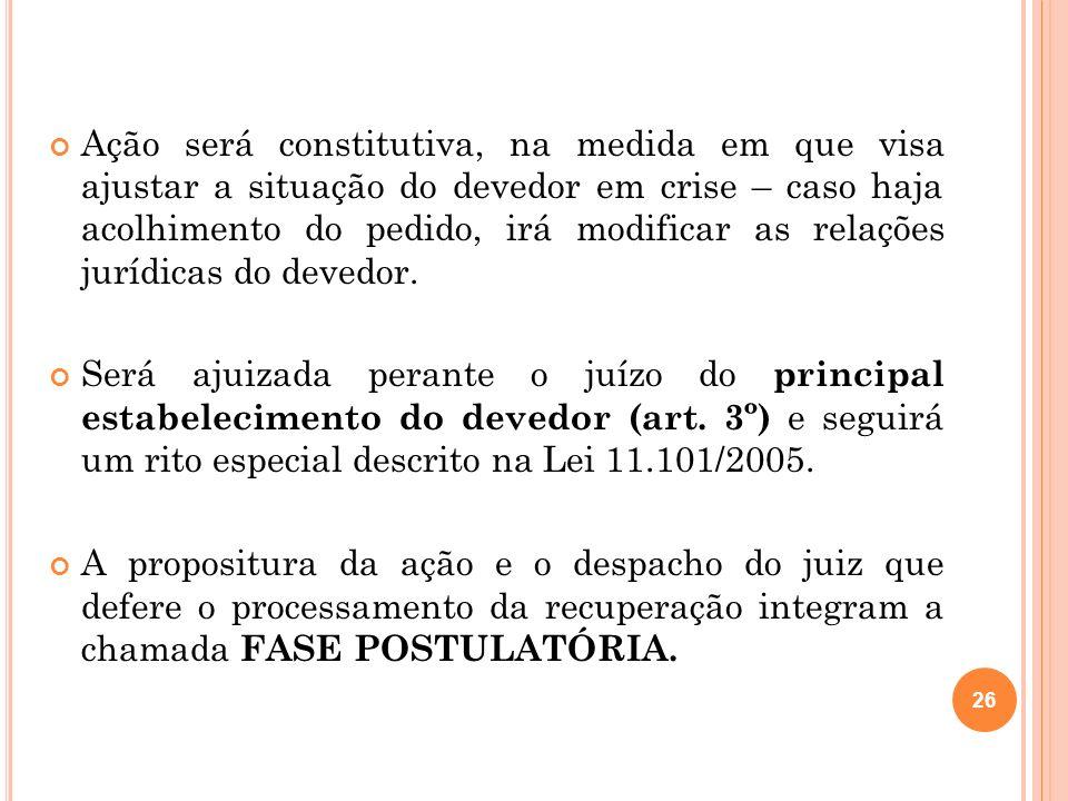 27 2.10 R EQUISITOS Conforme disposições gerais do art.