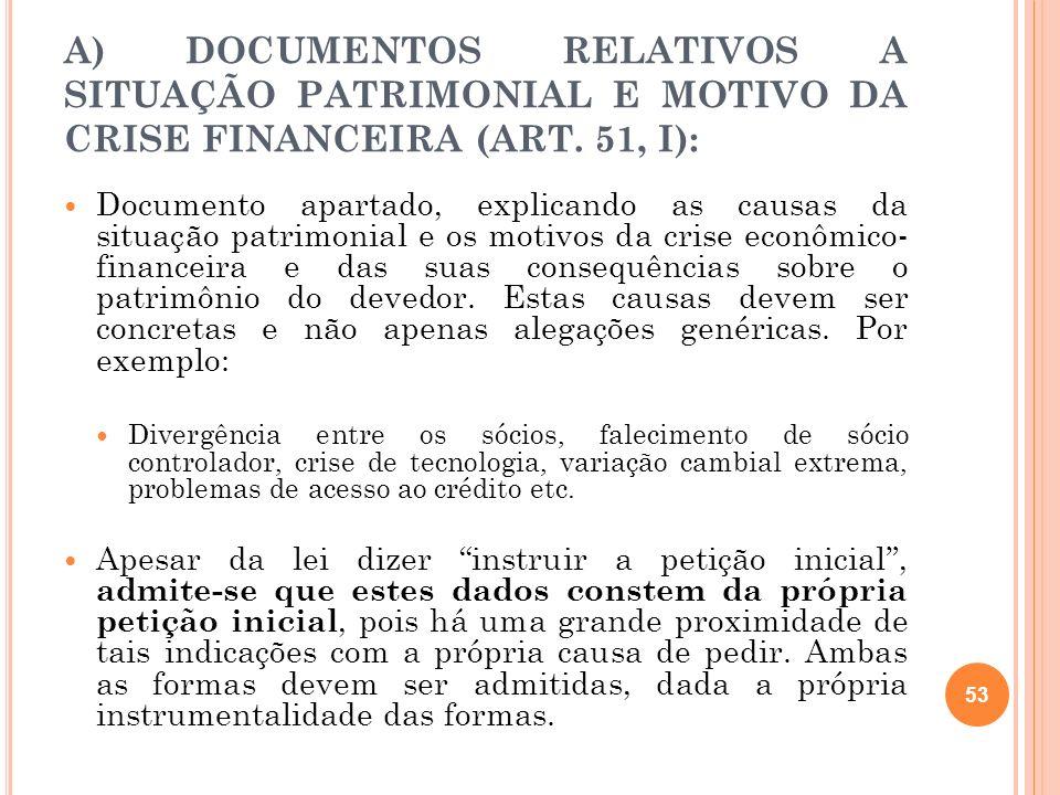 B ) D OCUMENTOS CONTÁBEIS ( ART.