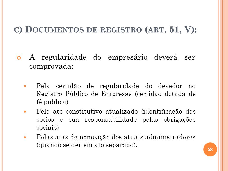 D) CERTIDÕES DOS CARTÓRIOS DE PROTESTOS (ART.