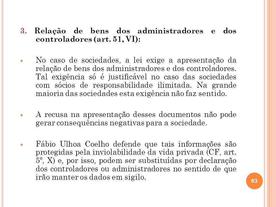 64 4.Relação de processos (art.