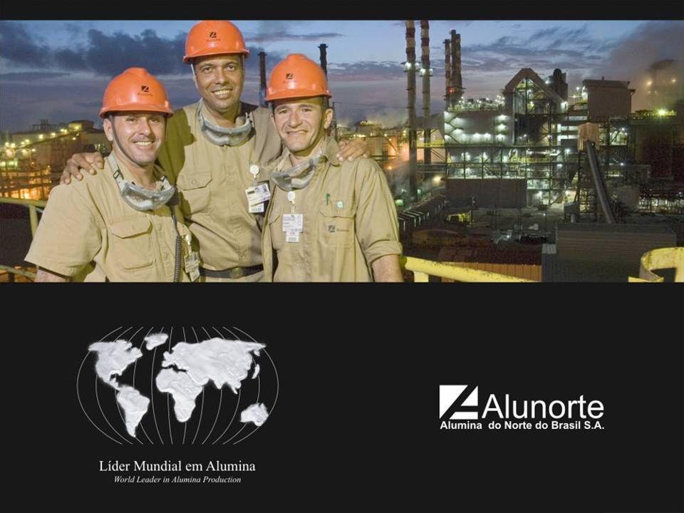 Alunorte A Alunorte é uma refinaria que produz alumina, principal insumo para a produção do alumínio.