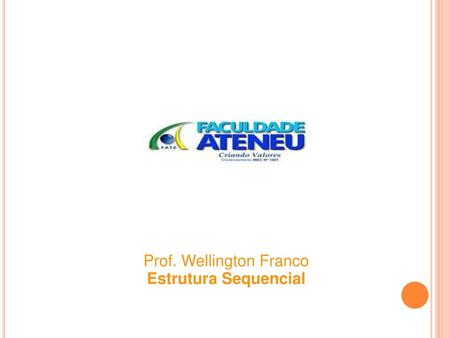 Prof. Wellington Franco
