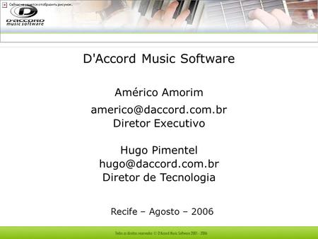 D'Accord Music Software