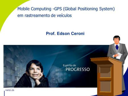 Mobile Computing -GPS (Global Positioning System)