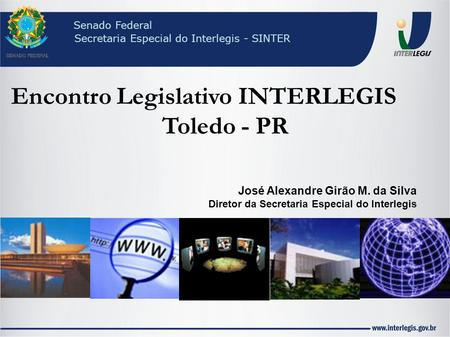 Encontro Legislativo INTERLEGIS Toledo - PR