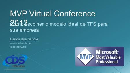 MVP Virtual Conference 2013