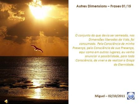Autres Dimensions – Frases 01/15