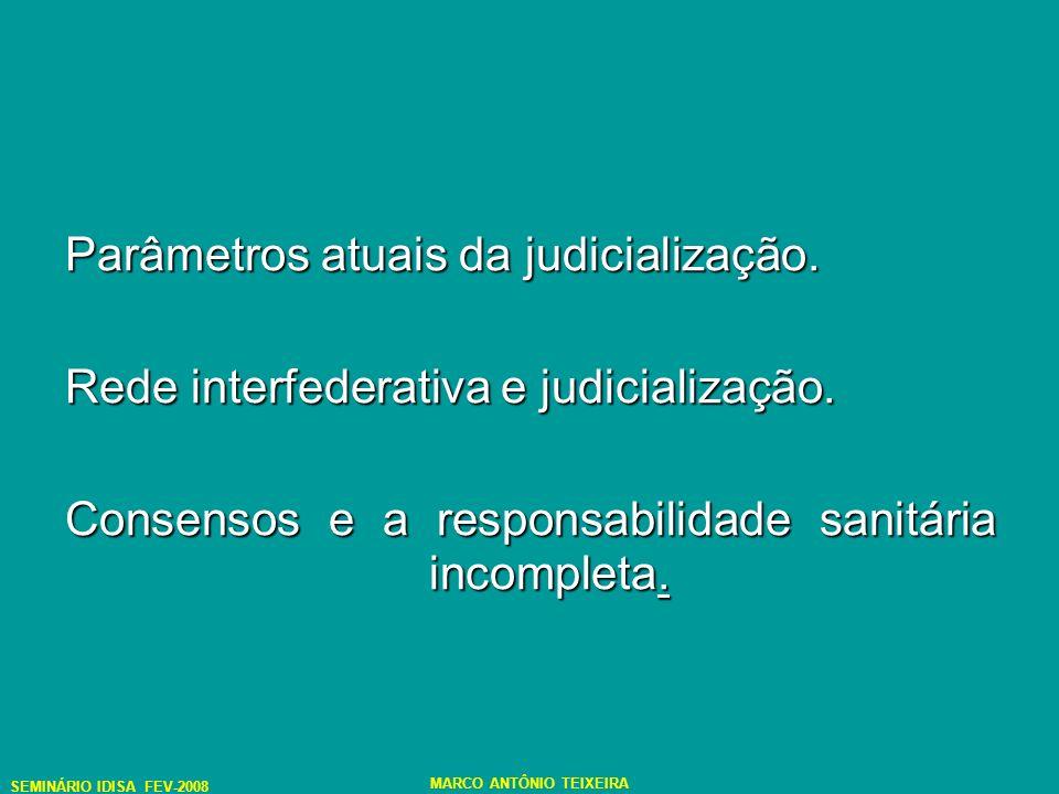 A desjudicialização e a inevitabilidade da judicialização no âmbito sanitário: o paradoxo possível.