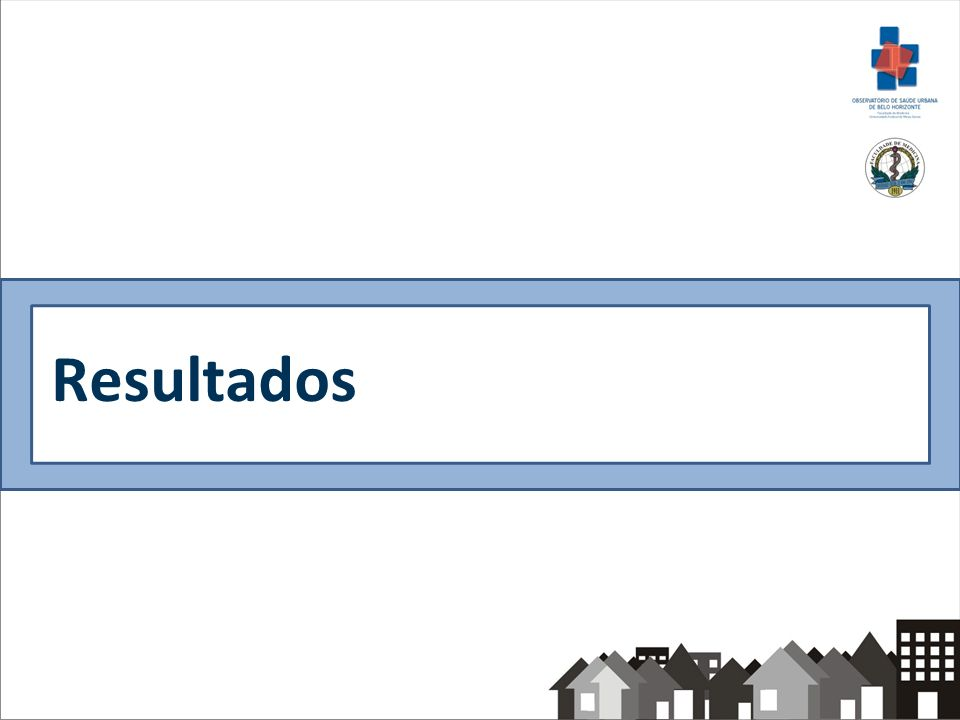 Variáveis sócio-demográficas, de hábitos e comportamentos e de saúde – n=4367, Belo Horizonte/Brasil, 2008-2009 % Academia (n=319) % Saúde em Beagá (n=4048) Regional Barreiro -58,6 Oeste -41,4 IVS * Baixo 3,321,9 Médio 76,738,7 Elevado 18,732,0 Muito elevado 1,37,4 Média (IC 95%) 3,08 (3,03-3,13)3,02 (2,93-3,10) * valor-p<0,05