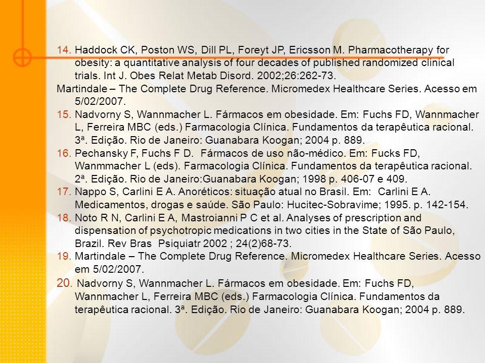 21.Pechansky F, Fuchs F D. Fármacos de uso não-médico.