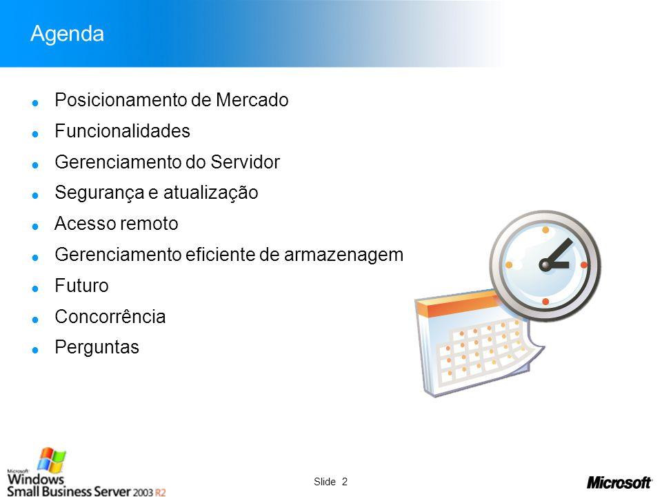 Slide 3 Posicionamento de Mercado AnoConstituiçãoExtinçãoFalênciasConcordatas 199945.50111.17259919 200044.61312.98452424 200146.97511.06743218 200242.99319.83647218 200331.78010.26134312 200444.42721.0004401 200544.81217.437381 7 200628.51910.8261909 Fonte: www.jucergs.rs.gov.br