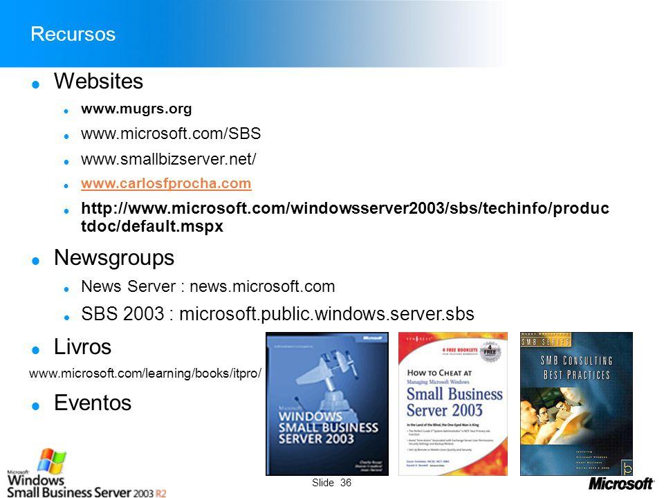 http://www.carlosfprocha.com © Microsoft Corporation MUG-RS Todos direitos reservados.