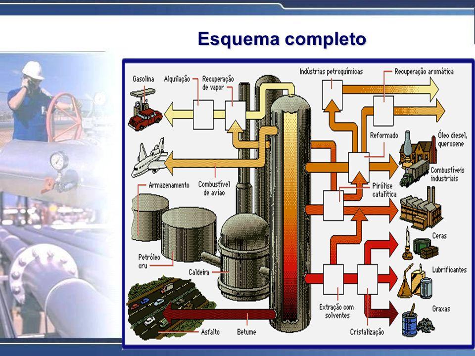 A indústria petroquímica é definida basicamente, em função de suas matérias-primas, com a indústria orgânica sintética, que obtém seus produtos a partir de frações do petróleo e do gás natural.