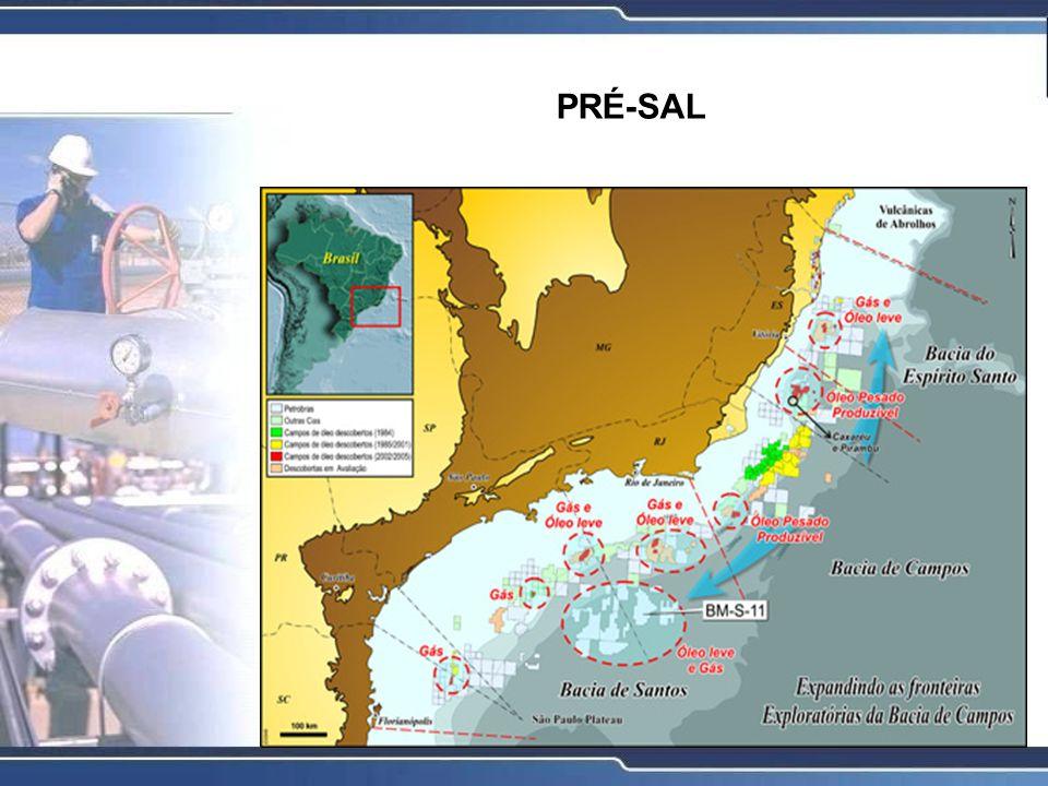 Entenda o que é a camada pré-sal A chamada camada pré-sal é uma faixa que se estende ao longo de 800 quilômetros entre os Estados do Espírito Santo e Santa Catarina, abaixo do leito do mar, e engloba três bacias sedimentares (Espírito Santo, Campos e Santos).