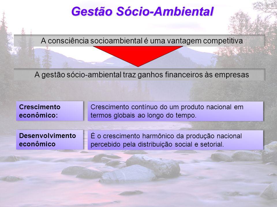 23 Gestão Sócio-Ambiental Proteção ambiental é função da administração É interesse dos presidentes e diretores Propicia à empresa integração articulada e comunicação social.
