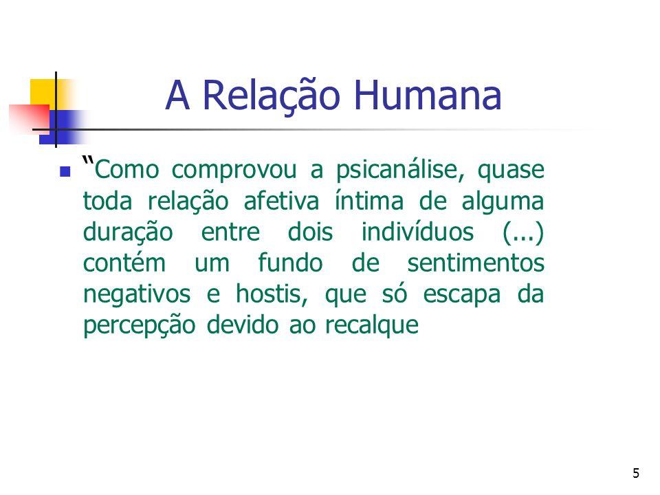 A Relação Humana Em um grupo, cada indivíduo se defronta com suas necessidades e com as dos outros.