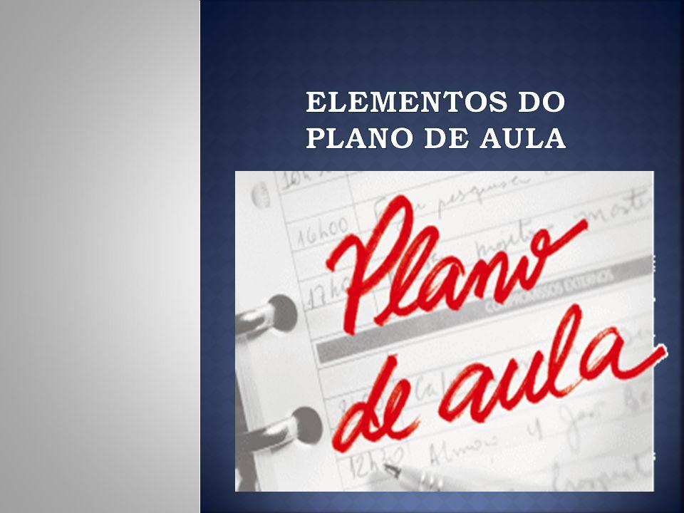 O plano é um documento escrito que materializa um determinado momento de um planejamento.