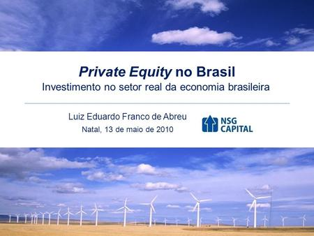 Private Equity no Brasil