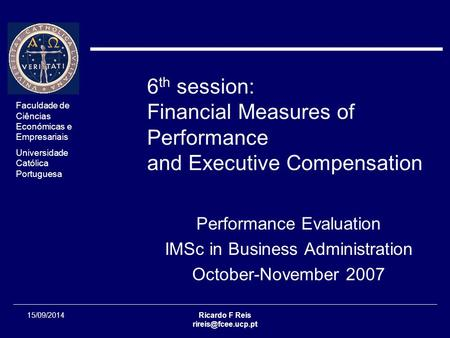 compensation and performance evaluation at arrow