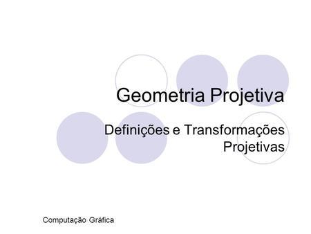 Apresentacoes geometria