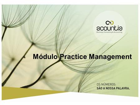 Módulo Practice Management