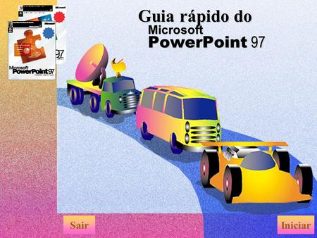 Guia rápido do Microsoft PowerPoint 97