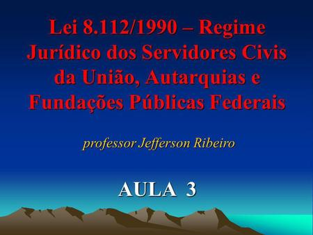 professor Jefferson Ribeiro