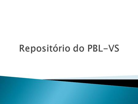 Repositório do PBL-VS.