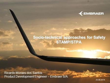 Socio-technical approaches for Safety STAMP/STPA