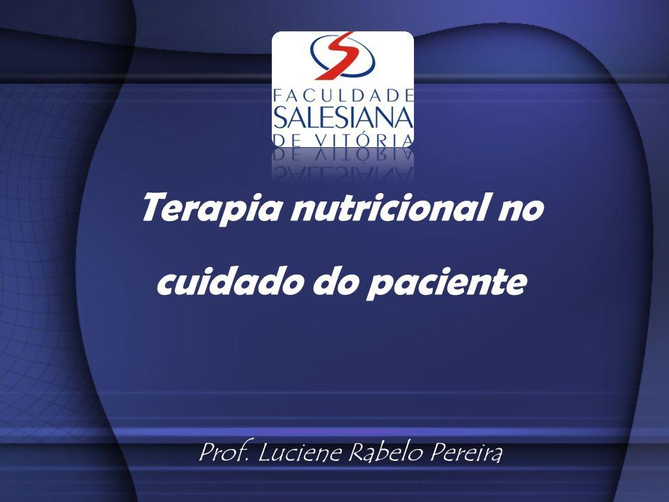 Dietoterapia Refere-se a parte da Nutrição que cuida do tratamento e prevenção de enfermidades através da dieta Curar a enfermidade Prevenir as alterações da nutrição Restabelecer a nutrição ao estado normal quando este está modificado Adequar a dieta para cada caso específico