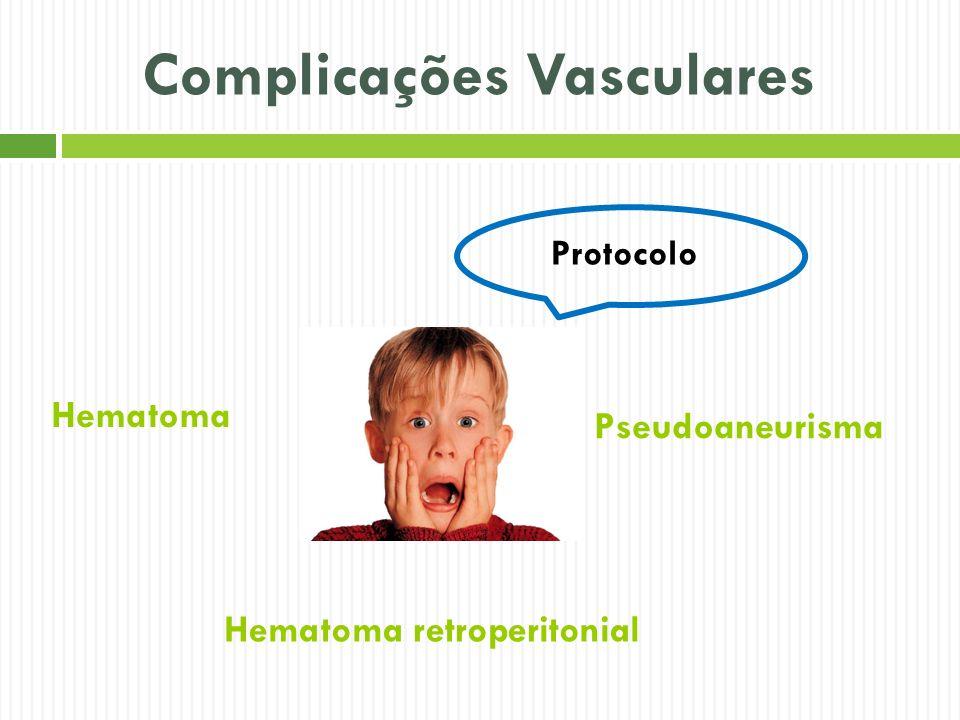 Complicações Vasculares