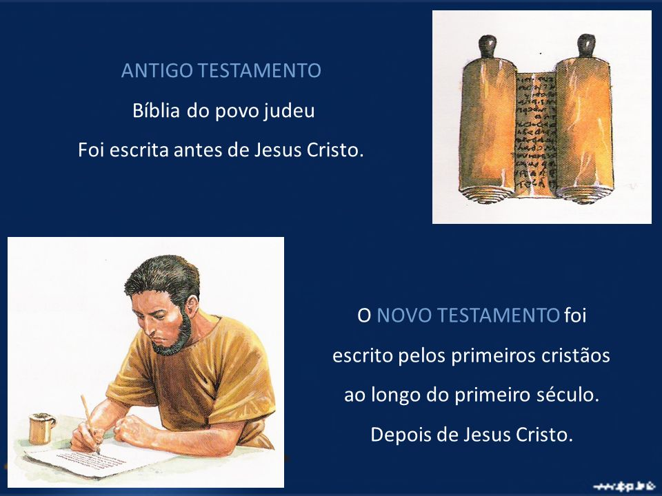 Foi escrita antes de Jesus Cristo.