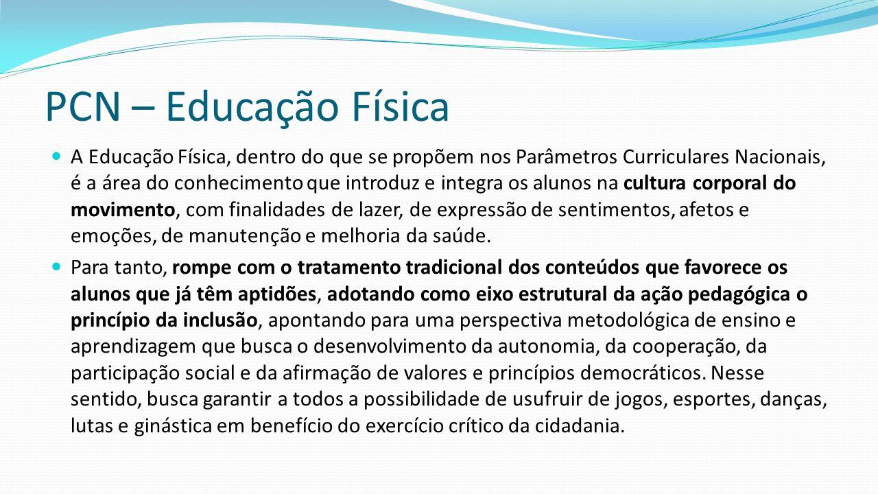 PCN – Educação Física