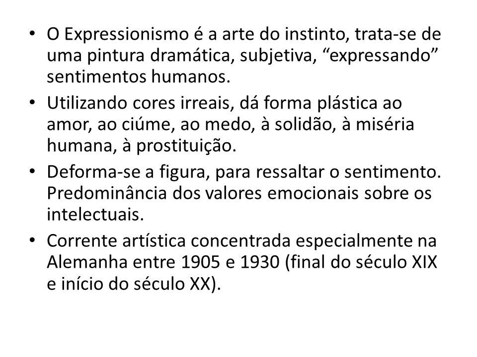Expressionismo ppt carregar - Pintura instinto ...