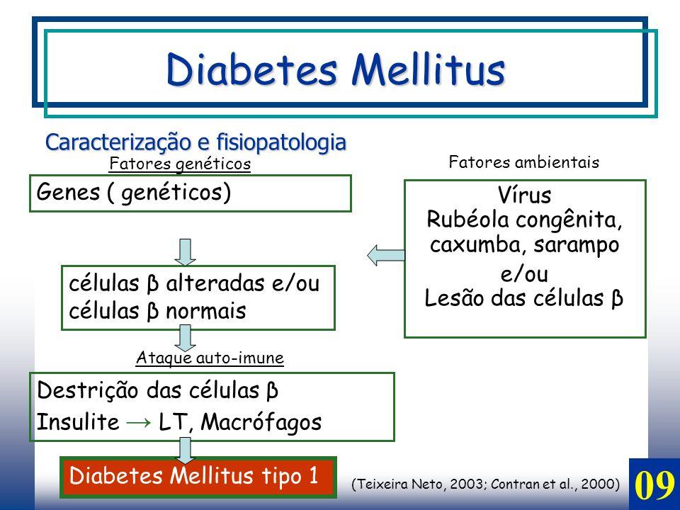 Diabetes Mellitus 09 Caracterização e fisiopatologia