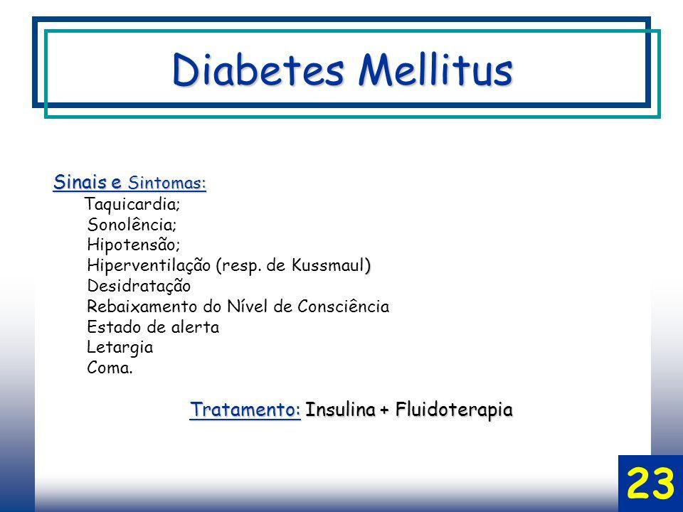 Diabetes Mellitus 23 Sinais e Sintomas: