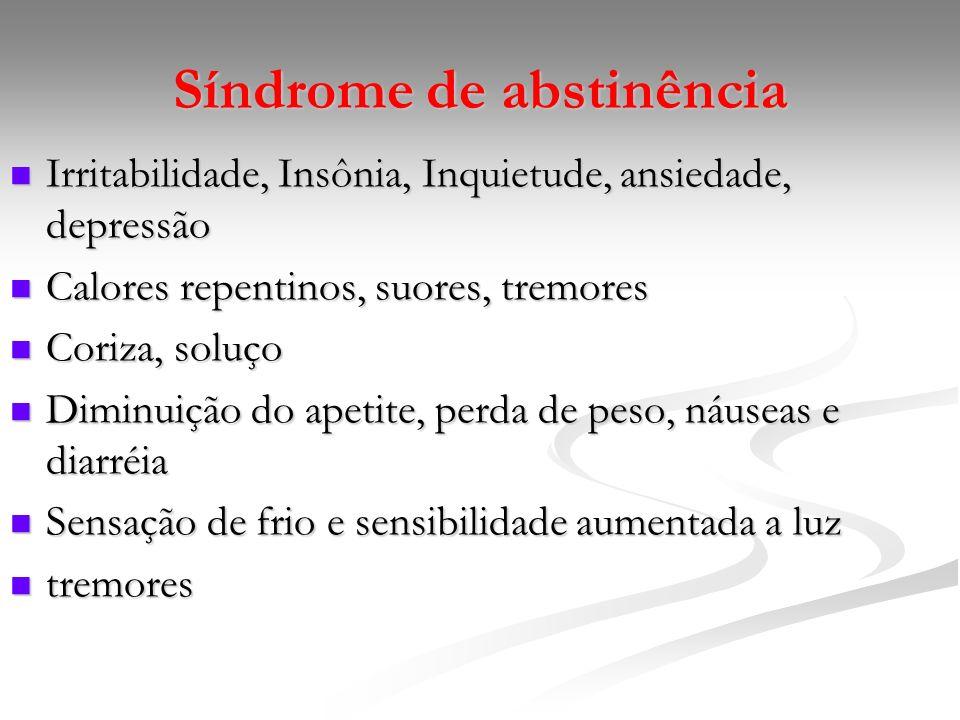 Síndrome de abstinência