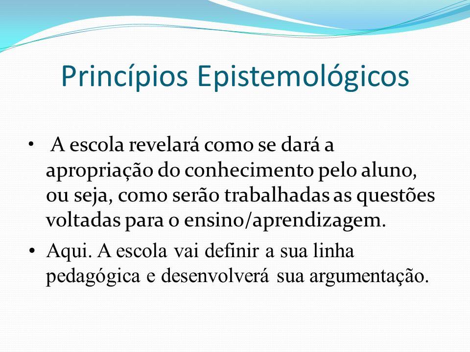 Princípios Epistemológicos