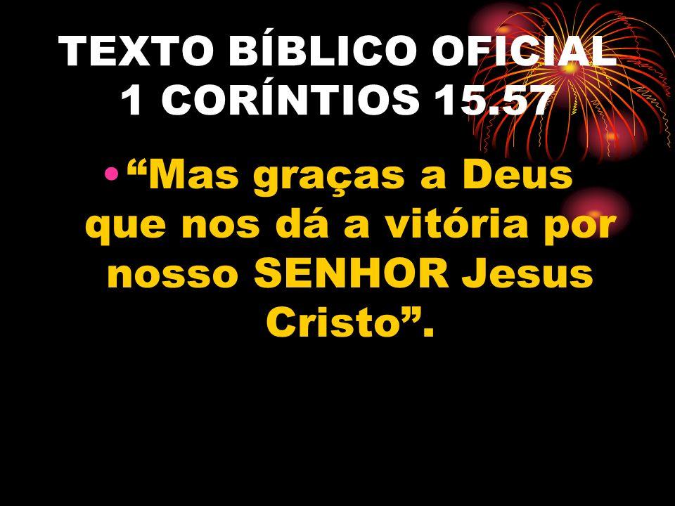 TEXTO BÍBLICO OFICIAL 1 CORÍNTIOS 15.57