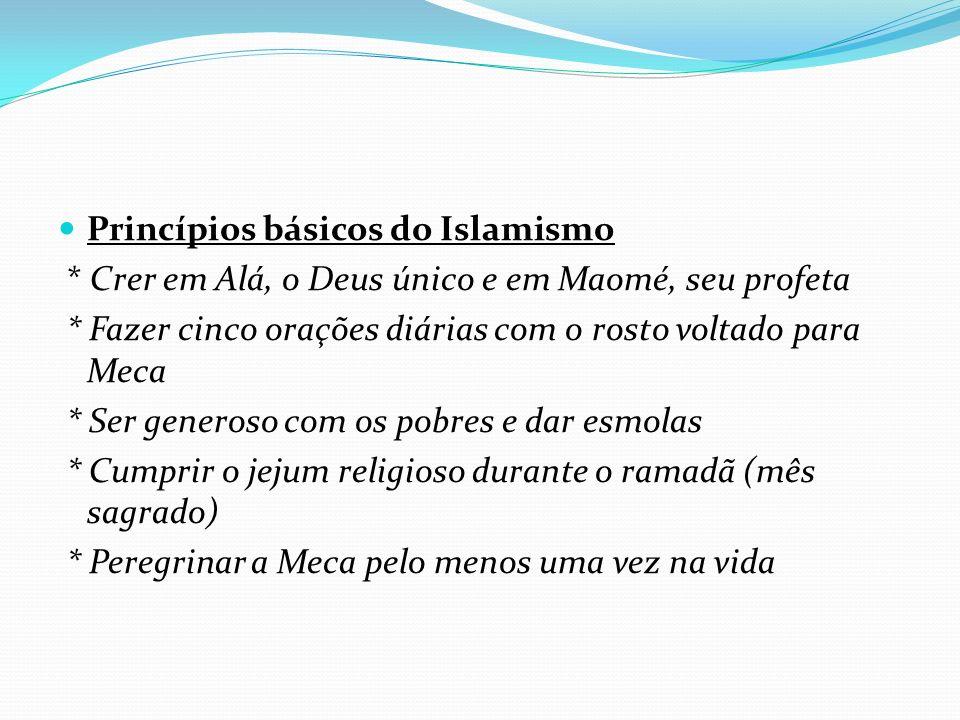 Princípios básicos do Islamismo