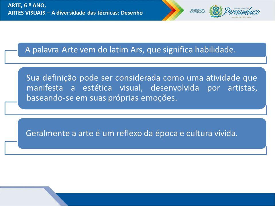 Artesanato De Croche Em Geral ~ ARTES VISUAIS u2013 A diversidade das técnicas Desenho ppt