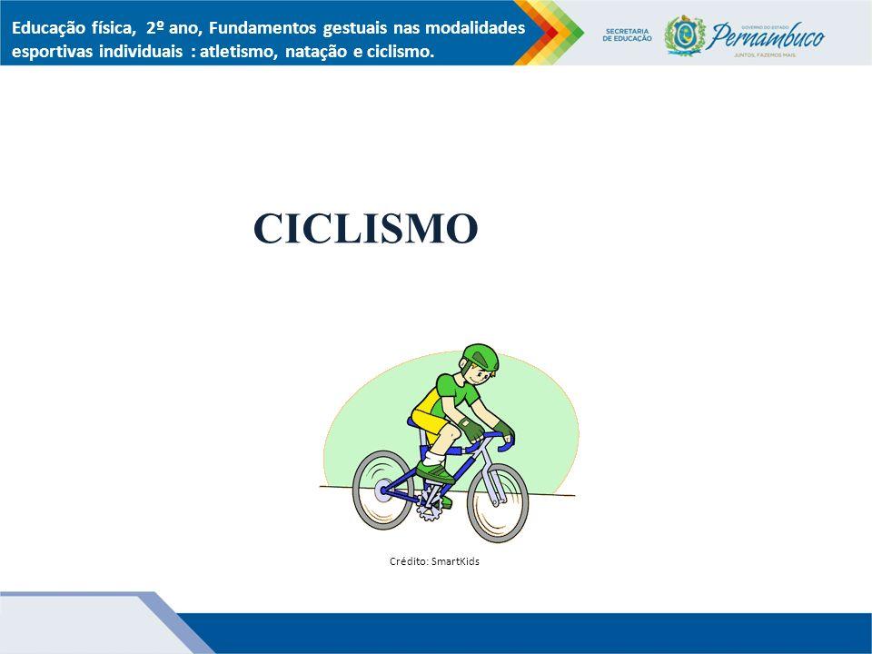 Educação física, 2º ano, Fundamentos gestuais nas modalidades esportivas individuais : atletismo, natação e ciclismo.