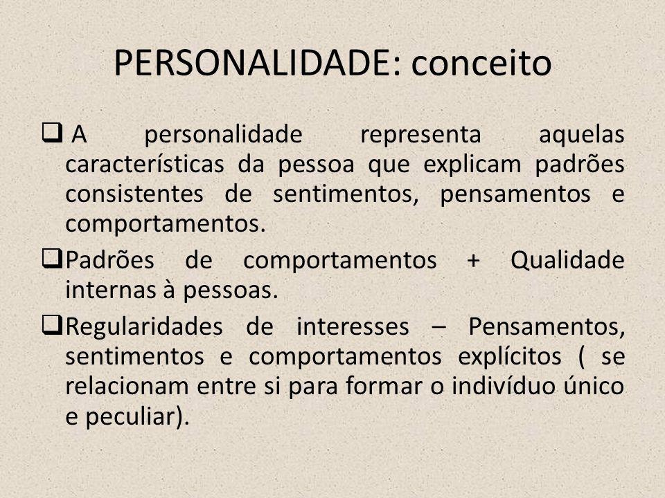 PERSONALIDADE: conceito