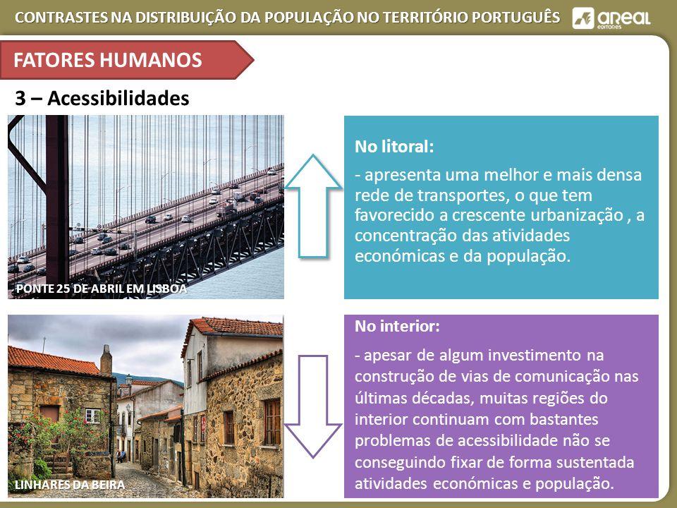 FATORES HUMANOS 3 – Acessibilidades No litoral:
