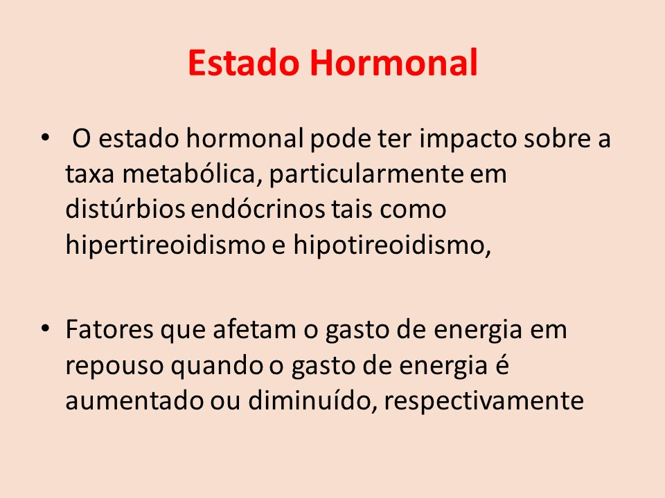 Estado Hormonal