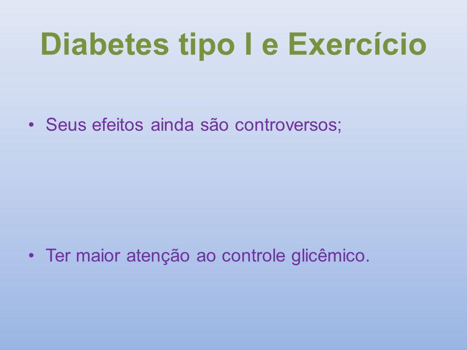 Diabetes tipo I e Exercício